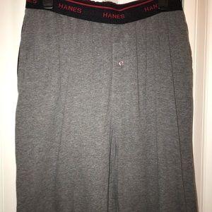 Hanes Men's PJ/Lounge Pants 💤 Medium 32/34